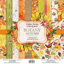 "Набор скрапбумаги ""Botany autumn redesign"" 20*20 см, Фабрика Декору"