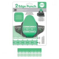 Бордюрный дырокол 2 Edge Punch – Garland, We R Memory Keepers