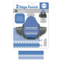 Бордюрный дырокол 2 Edge Punch – Raindrop, We R Memory Keepers