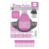 Бордюрный дырокол 2 Edge Punch – Rose, We R Memory Keepers