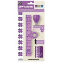 Инструмент SewRibbon Punch & Stencil – Flower, We R Memory Keepers, 71215-2