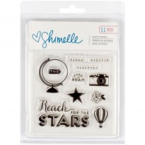 Штамп акриловый Shimelle See The World, American Crafts, 368169