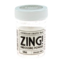 Пудра для эмбоссинга American Crafts Zing! White