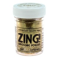 Пудра для эмбоссинга American Crafts Zing! Gold Glitter